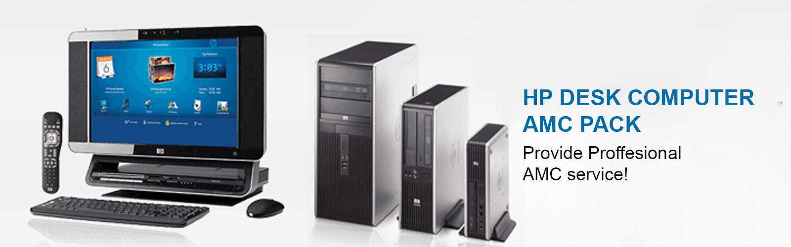 HP Desktop Computer AMC Delhi