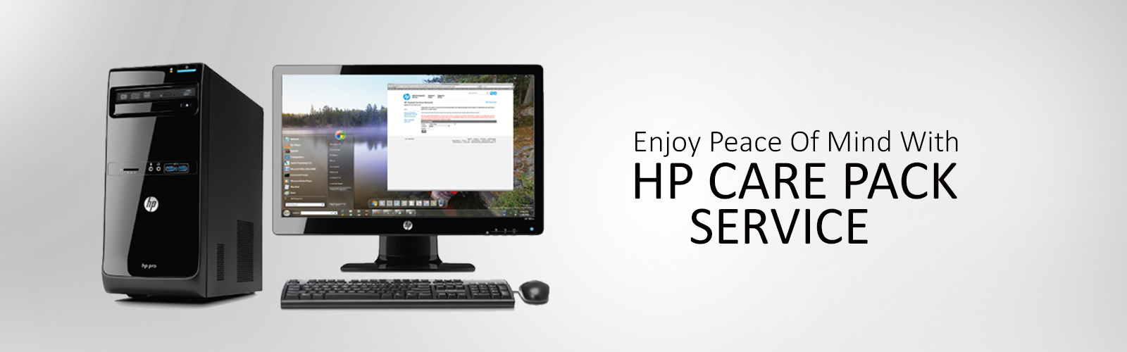HP Desktop Computer Care Pack Delhi