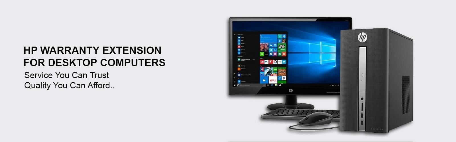 HP Desktop Computer Warranty Extension Delhi