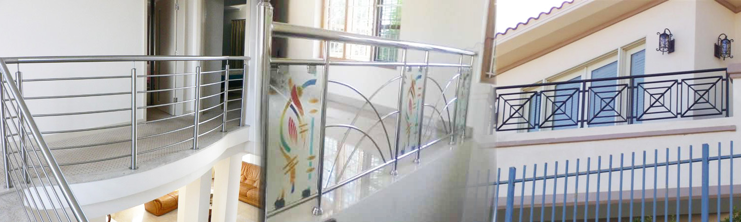 Stainless Steel Railings Fabrication Services
